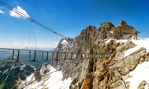 The Dachstein is one of the most enjoyed destinations in the state of Steiermark.